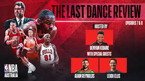 Michael Jordan's 'The Last Dance' Review - Episodes 7 & 8 w/ Adam Reynolds  and Leigh Ellis - YouTube
