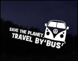 Save Planet Travel Bus Car Decal Sticker Jdm Vehicle Bike Bumper Graphic Funny Ebay