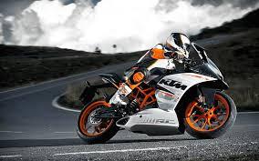 motorcycles ktm rc390 4k bike pics
