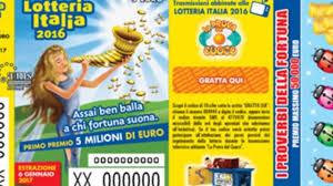 I biglietti vincenti della Lotteria Italia, in Sicilia estrazioni ...