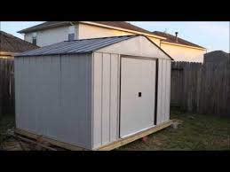 arrow 10 x 8 tool shed build you