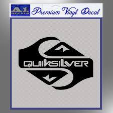 Quicksilver Clothing Decal Sticker D1 A1 Decals Desain Logo Kaos Desain