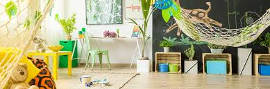 Colorful Kids Room With Hammock An Blackboard Stock Photo Picture And Royalty Free Image Image 72322732