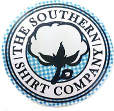 Southern Shirt Authentic The Company Usa Ssco 4 Round Cotton Preppy Vinyl Sticker Decal Southern Proper Murica Blue Plaid Amazon Com