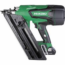Hikoki Gasless Framing Nailer Kit Nail Staple Guns Mitre 10