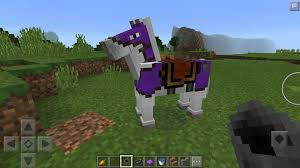 dyeable leather horse armor in mcpe 0