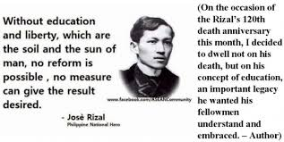 rizal s concept of education