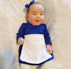 no sew diy belle village dress baby