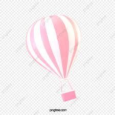 pink romantic hot balloon maiden heart