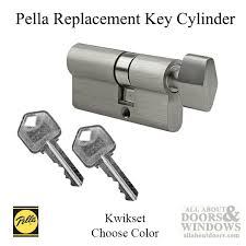 pella storm door lock replacement