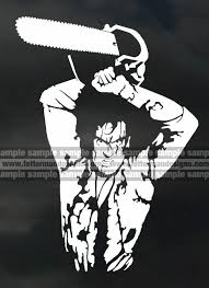 Purchase Evil Dead Army Of Darkness Bruce Campbell Vinyl Sticker Multiple Sizes Colors Motorcycle In Catawissa Pennsylvania Us For Us 6 95