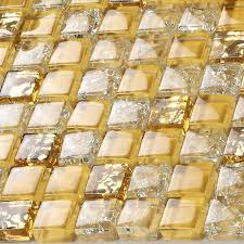 china golden glass mosaic tiles