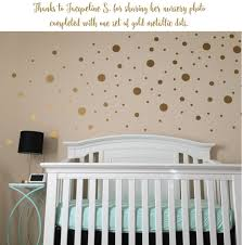 Gold Wall Decals Elephant Uk Peel And Stick Rose Art Dots Pink For Nursery Green Vamosrayos