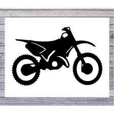 Dirt Bike Decal Motorcycle Decal Motocross Decal Dirt Etsy