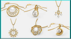 gold pendant designs for women