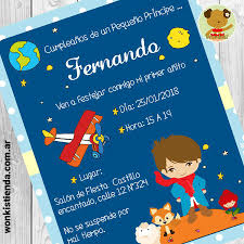 El Principito Moreno Invitacion Whatsapp Fiesta Del Principito