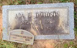 Ada Davidson (1873-1961) - Find A Grave Memorial