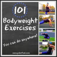 101 bodyweight exercises you can do