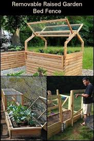 Removable Raised Garden Bed Fence Vegetable Garden Raised Beds Garden Beds Raised Garden
