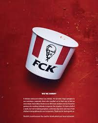 kfc s fck ad is a big hit