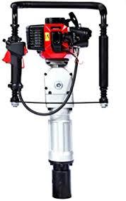 Gas Powered T Post Driver Manual Piledriver 2 Stroke 52cc Gasoline Pile Driver Kit Farm Fence Post Hammer Push Pile Lightweight Petrol Piledriver Amazon Com