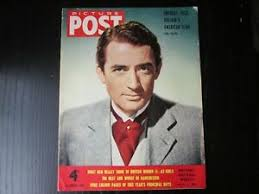 December 1954, PICTURE POST, Gregory Peck, Adele Dixon, Hy Hazell, Nancy  Theda. | eBay