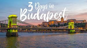 the perfect 3 day budapest itinerary