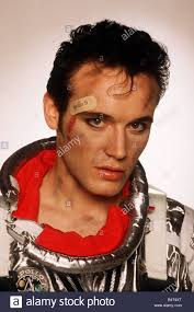 Adam Ant lead Singer of the pop group Adam and the Ants promotional Stock  Photo - Alamy