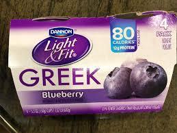 light fit greek blueberry yogurt