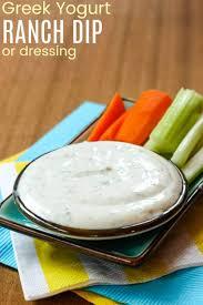 greek yogurt ranch dip or dressing