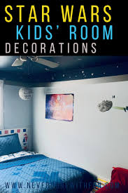 Outer Space Kids Bedroom Star Wars Details Neverdonewithfun