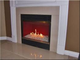 converting gas logs to fireglass with