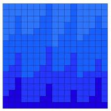 mosaic tile broken glass vector