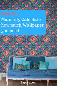 manually calculate how much wallpaper