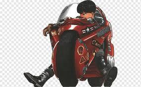 Shotaro Kaneda Motorcycle Manga Tetsuo Shima Anime Kaneda Akira Car Vehicle Film Png Pngwing