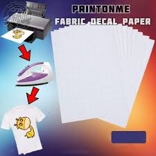 Amazon Com 100 Pcs Diy A4 Inkjet Water Slide Decal Paper Printonme Fabric Transfer Decal Paper For T Shirt Transfers Diy Fabric Printing Ceramics Phone Case Printing Office Products