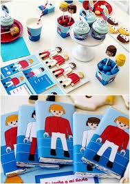 Kit Imprimible Gratis Para Fiesta Playmobil Anniversaire Enfant