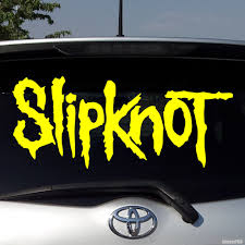 Decal Slipknot Us Metal Band Buy Vinyl Decals For Car Or Interior Decal Factory Stickerpro Different Colors And Sizes Is Avalable Free World Wide Delivery