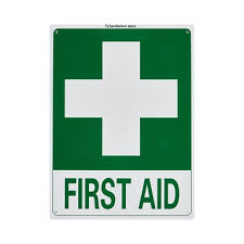 Sandleford 300 X 225mm First Aid Plastic Sign Bunnings Warehouse