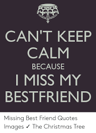 can t keep calm because i miss my bestfriend missing best friend