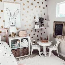 Gold Polka Dots Wall Decal Baby Nursery Wall Stickers For Kids Room Home Decor Mural Wallpaper Wall Sticker Home Decoration Wall Stickers Aliexpress