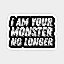 god of war quote i am your monster no longer god of war