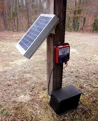 Power An Electric Fence With Solar Mother Earth News Solar Electric Fence Electric Fence Solar Electric
