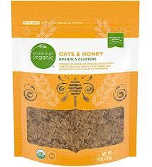 organic granola cers oats honey