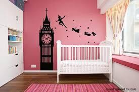 Amazon Com Vinyl Wall Decal Sticker Dorm Peter Pan Never Land Kids Children Story A52 Home Kitchen