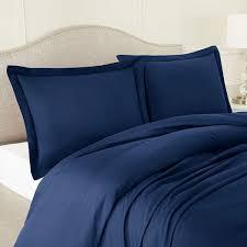 navy blue duvet cover set aanya linen uk