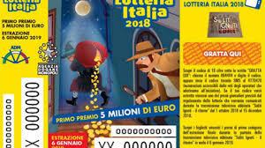 Lotteria Italia 2019 i biglietti vincenti elenco tagliandi