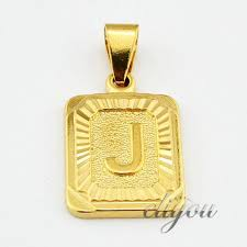 initial pendant necklace for women