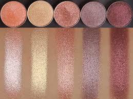foil eyeshadow swatches makeup geek