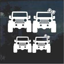 Jeep Family Jeep Decal Stickers Aftermarket Replacement Non Factory Custom Sticker Shop